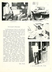 Page 11, 1972 Edition, Clinton Christian School - Echo Yearbook (Goshen, IN) online yearbook collection