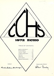 Page 5, 1972 Edition, Clinton Christian School - Echo Yearbook (Goshen, IN) online yearbook collection
