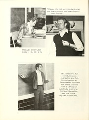 Page 16, 1974 Edition, Clinton Christian School - Echo Yearbook (Goshen, IN) online yearbook collection