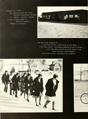 Page 8, 1974 Edition, Clinton Christian School - Echo Yearbook (Goshen, IN) online yearbook collection