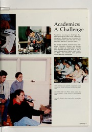 Page 11, 1984 Edition, Clinton Christian School - Echo Yearbook (Goshen, IN) online yearbook collection