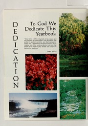Page 14, 1984 Edition, Clinton Christian School - Echo Yearbook (Goshen, IN) online yearbook collection