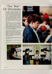 Page 6, 1984 Edition, Clinton Christian School - Echo Yearbook (Goshen, IN) online yearbook collection