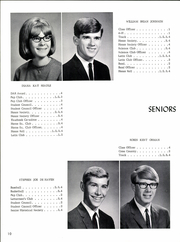 Page 14, 1967 Edition, De Soto High School - Echo Yearbook (Muncie, IN) online yearbook collection