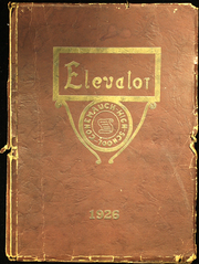 Page 1, 1926 Edition, Conemaugh Valley High School - Elevator Yearbook (East Conemaugh, PA) online yearbook collection