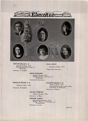 Page 14, 1926 Edition, Conemaugh Valley High School - Elevator Yearbook (East Conemaugh, PA) online yearbook collection