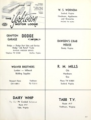 Page 221, 1963 Edition, York High School - Falcon Yearbook (Yorktown, VA) online yearbook collection