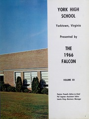 Page 5, 1966 Edition, York High School - Falcon Yearbook (Yorktown, VA) online yearbook collection