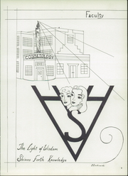 Page 13, 1953 Edition, Harriet Whitney High School - First Lady Yearbook (Toledo, OH) online yearbook collection