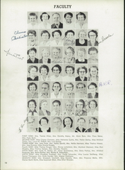 Page 14, 1953 Edition, Harriet Whitney High School - First Lady Yearbook (Toledo, OH) online yearbook collection