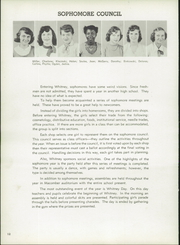 Page 16, 1953 Edition, Harriet Whitney High School - First Lady Yearbook (Toledo, OH) online yearbook collection