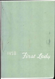 1958 Edition, Harriet Whitney High School - First Lady Yearbook (Toledo, OH)