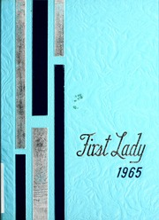 1965 Edition, Harriet Whitney High School - First Lady Yearbook (Toledo, OH)