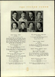 Page 39, 1936 Edition, Fulton High School - Forum Yearbook (Atlanta, GA) online yearbook collection
