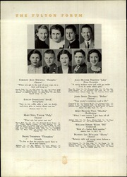Page 40, 1936 Edition, Fulton High School - Forum Yearbook (Atlanta, GA) online yearbook collection