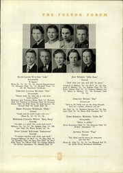 Page 41, 1936 Edition, Fulton High School - Forum Yearbook (Atlanta, GA) online yearbook collection