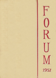 Page 1, 1957 Edition, Fulton High School - Forum Yearbook (Atlanta, GA) online yearbook collection