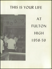 Page 9, 1959 Edition, Fulton High School - Forum Yearbook (Atlanta, GA) online yearbook collection
