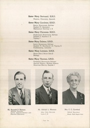 Page 10, 1948 Edition, St Wendelin High School - Foslin Yearbook (Fostoria, OH) online yearbook collection