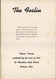 Page 5, 1948 Edition, St Wendelin High School - Foslin Yearbook (Fostoria, OH) online yearbook collection