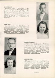 Page 15, 1949 Edition, St Wendelin High School - Foslin Yearbook (Fostoria, OH) online yearbook collection