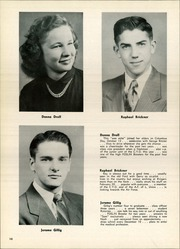 Page 14, 1951 Edition, St Wendelin High School - Foslin Yearbook (Fostoria, OH) online yearbook collection