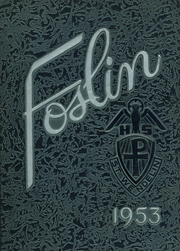Page 1, 1953 Edition, St Wendelin High School - Foslin Yearbook (Fostoria, OH) online yearbook collection