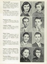 Page 13, 1953 Edition, St Wendelin High School - Foslin Yearbook (Fostoria, OH) online yearbook collection