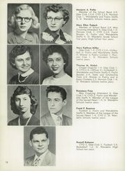 Page 16, 1953 Edition, St Wendelin High School - Foslin Yearbook (Fostoria, OH) online yearbook collection