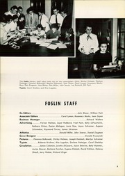 Page 13, 1954 Edition, St Wendelin High School - Foslin Yearbook (Fostoria, OH) online yearbook collection