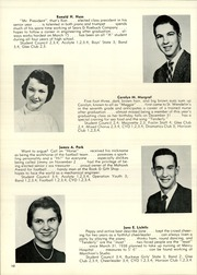 Page 14, 1956 Edition, St Wendelin High School - Foslin Yearbook (Fostoria, OH) online yearbook collection