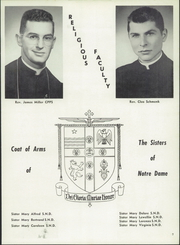 Page 11, 1957 Edition, St Wendelin High School - Foslin Yearbook (Fostoria, OH) online yearbook collection