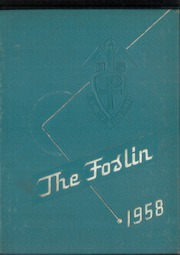 1958 Edition, St Wendelin High School - Foslin Yearbook (Fostoria, OH)