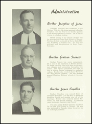 Page 12, 1951 Edition, Saint George High School - Georgian Yearbook (Evanston, IL) online yearbook collection