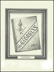 Page 5, 1951 Edition, Saint George High School - Georgian Yearbook (Evanston, IL) online yearbook collection