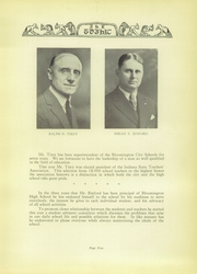 Page 11, 1929 Edition, Bloomington High School - Gothic Yearbook (Bloomington, IN) online yearbook collection