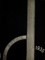 1935 Edition, Bloomington High School - Gothic Yearbook (Bloomington, IN)