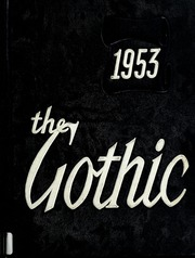 1953 Edition, Bloomington High School - Gothic Yearbook (Bloomington, IN)