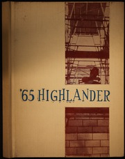 Page 1, 1965 Edition, Highland High School - Highlander Yearbook (Anderson, IN) online yearbook collection