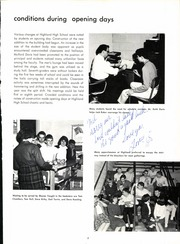 Page 11, 1965 Edition, Highland High School - Highlander Yearbook (Anderson, IN) online yearbook collection