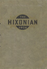 Page 1, 1924 Edition, Hicksville High School - Hixonian Yearbook (Hicksville, OH) online yearbook collection