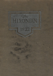 Page 1, 1933 Edition, Hicksville High School - Hixonian Yearbook (Hicksville, OH) online yearbook collection
