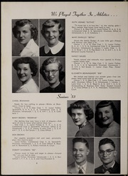 Page 12, 1953 Edition, Hicksville High School - Hixonian Yearbook (Hicksville, OH) online yearbook collection