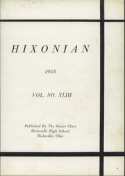 Page 7, 1958 Edition, Hicksville High School - Hixonian Yearbook (Hicksville, OH) online yearbook collection