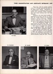 Page 10, 1957 Edition, Beech Grove High School - Hornet Yearbook (Beech Grove, IN) online yearbook collection