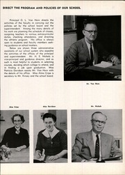 Page 11, 1957 Edition, Beech Grove High School - Hornet Yearbook (Beech Grove, IN) online yearbook collection
