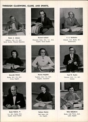 Page 13, 1957 Edition, Beech Grove High School - Hornet Yearbook (Beech Grove, IN) online yearbook collection