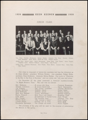Page 17, 1939 Edition, Demotte High School - Keen Keener Yearbook (Demotte, IN) online yearbook collection