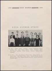 Page 5, 1939 Edition, Demotte High School - Keen Keener Yearbook (Demotte, IN) online yearbook collection