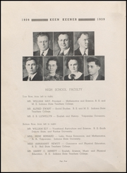Page 6, 1939 Edition, Demotte High School - Keen Keener Yearbook (Demotte, IN) online yearbook collection